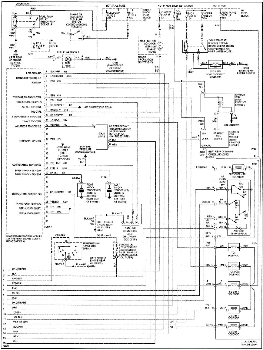 ElectricalDiagram3 california stingrays car club articles 96 lt1 in a 1981 c3 Single Phase Compressor Wiring Schematics at creativeand.co