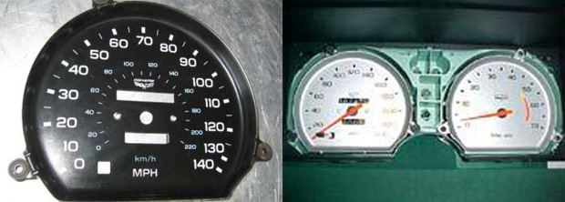 California Stingrays Car Club Articles 96 Lt1 In A 1981 C3 Corvette. Watch Ebay As Someone Is Usually Selling A Speedometer Already Converted Also Corvette Instruments Has Great Prices On 140mph Speedometers But I Planned. Corvette. 1981 Corvette Tachometer Wiring At Scoala.co