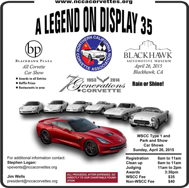 09/13/2015 - Bay Area's All Corvette Swap Meet and Car Show - Las